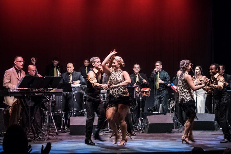 Live Latin Jazz & Mambo Show At The Lyric Theater